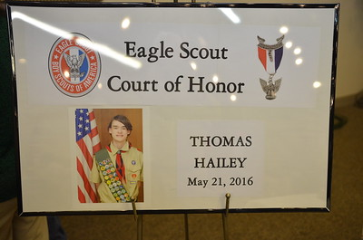 Thomas Hailey's Eagle Ceremony