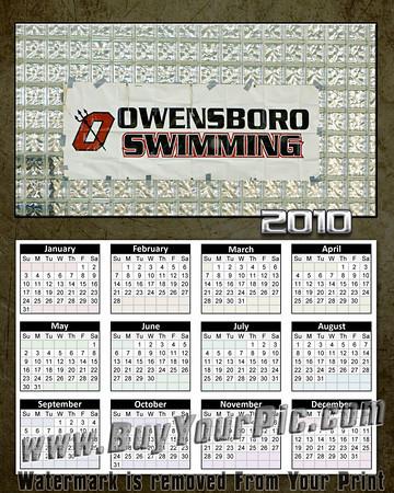 2009-11-15 OHS Swim Meet Calendars 8x10s