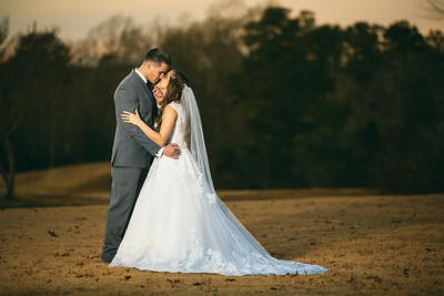 Winter Wedding at Ford's Colony Country Club in Williamsburg, VA