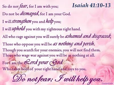 Favorite Scriptures Verses & Prayers