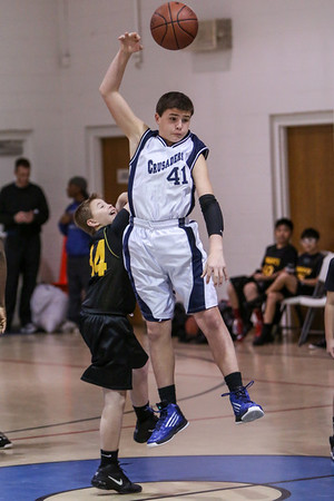 Feb 8 - BBall - 6th Gr Boys vs St Joseph