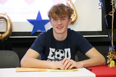Noah Galow Signing Day 2-20-20