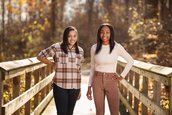 Aniya and Maya