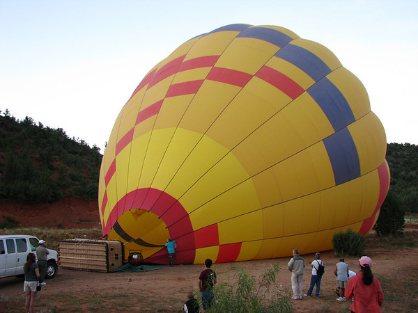Ballooning - Red Rock, Sedona, Az.