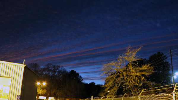 December 20:  Another great sky .  .  .