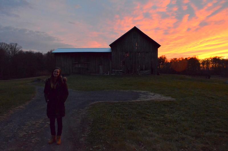 Last shot before leaving Grandma's barn.