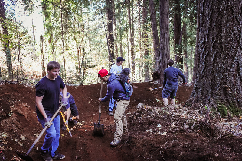 Hoot Trail Workday