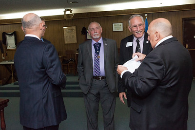 Coweta Lodge #251 Reception of Grand Lodge Officers & 50 - 60 Year Pin Presentation - 6/28/2016