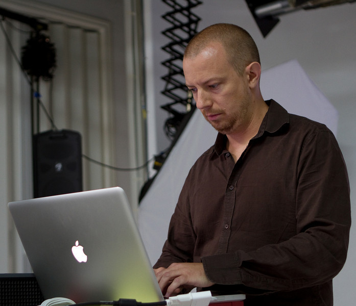 Joseph worked at Apple at the time iPhoto was introduced.  He was involved in the development of the Aperture product.