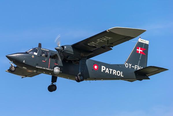 OY-FHA - Britten-Norman BN-2B-21 Islander
