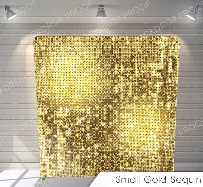small gold sequins G Pillow.jpg