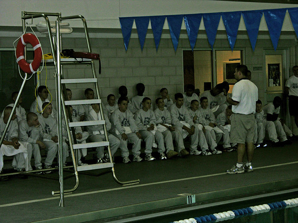 Cadets Are Introduced To The New Pool