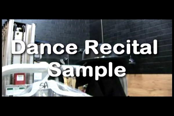 Dance Recitals Samples