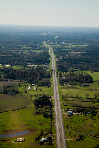 Neches River from the Air  022