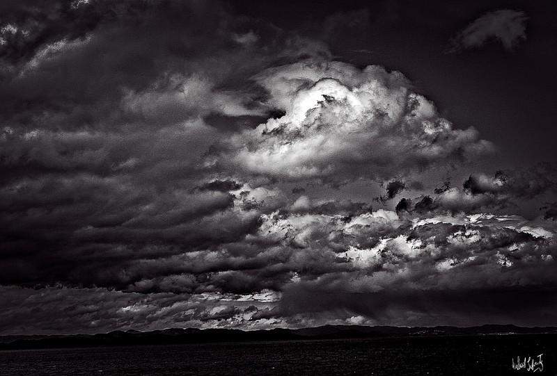 stormy monday in port angeles Wa.