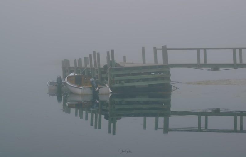 Blue Rocks Fog
