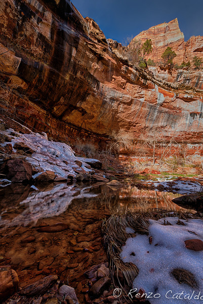 Zion National Park, trail to the Emerald Pools
