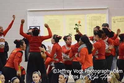 2-14-2015 Wheaton HS Varsity Poms at Richard Montgomery HS MCPS Championship, Photos by Jeffrey Vogt Photography with Kyle Hall
