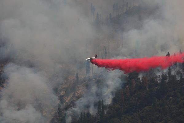 WILLOW FIRE NEAR BASS LAKE JULY 2015