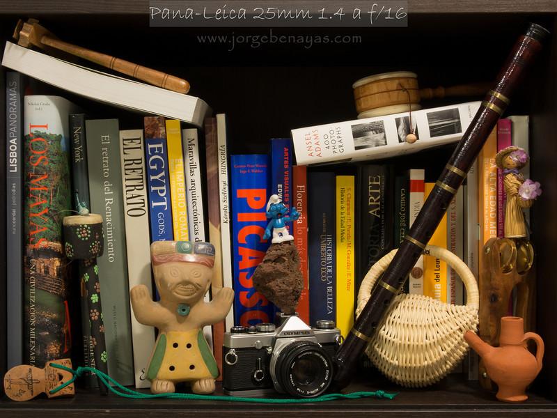 Pana-Leica 25mm 1.4 a f/16