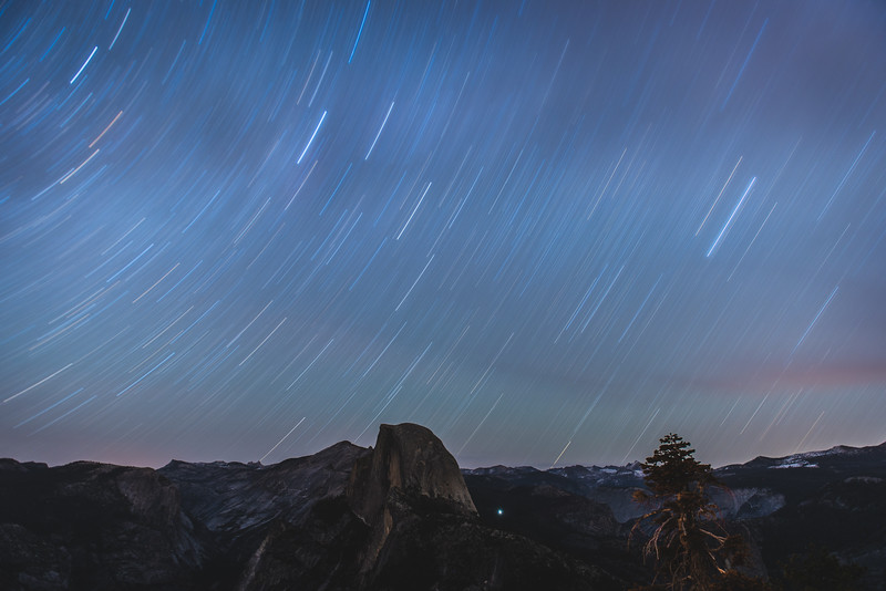 Star Trails at Glacier Point