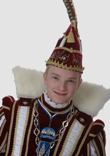 Jeugdprins Quinn den Eerste