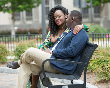 Kiesha Engagement Session
