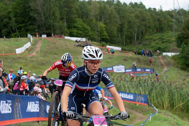 Loana Lecomte (France) -  bronze medal