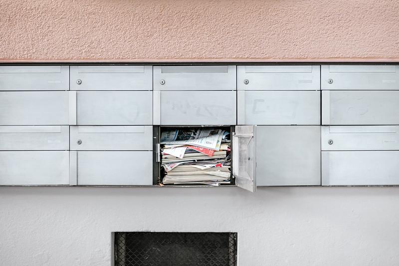 Letterbox in Zurich