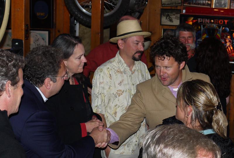 Ambassador Jason welcomes Melee rookie Peter Lambert