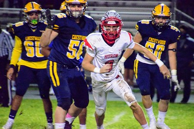 HS Sports - Huron at Crestwood Football 20