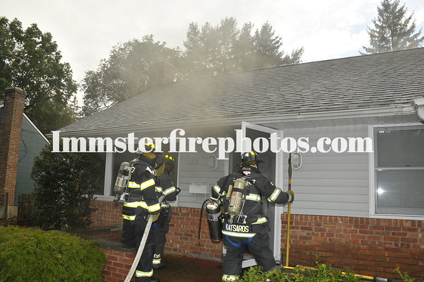 SYOSSET FD CHESHIRE AVE HOUSE FIRE 9-29-11