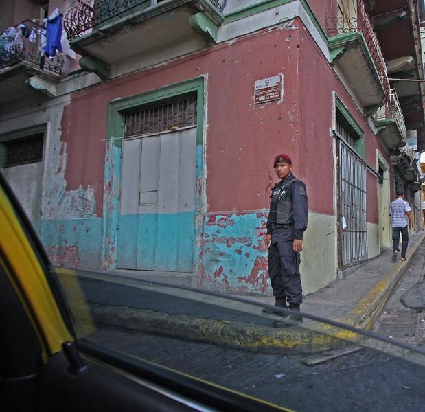 Military presence Panama City