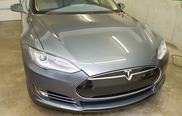 2013 Tesla S Full Clear Bra and Tint