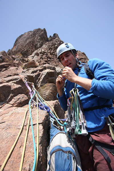 Trent and Andys Warrumbungles rockclimbing trip 2009.