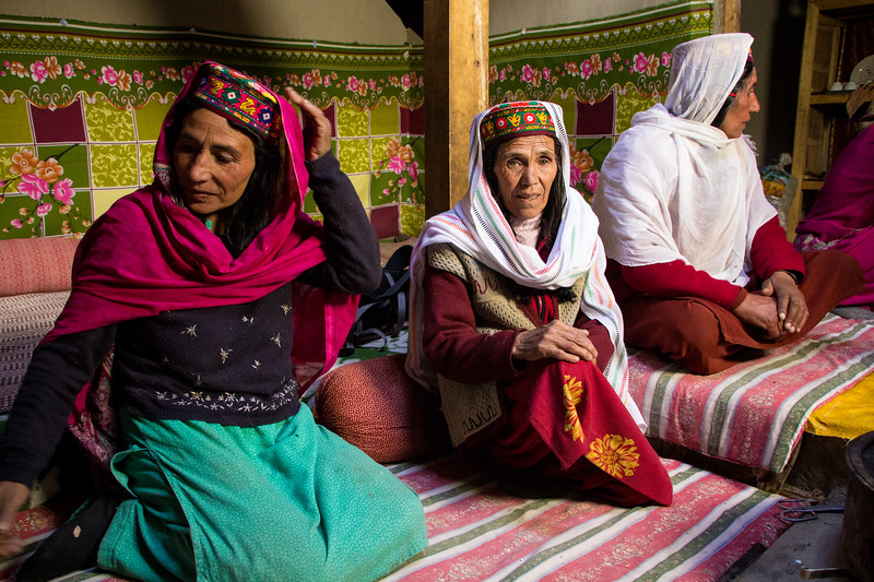 Women of Shimshal