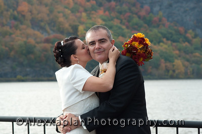 Wedding at the Plumbush Inn, 1656 Route 9D, Cold Spring, NY.