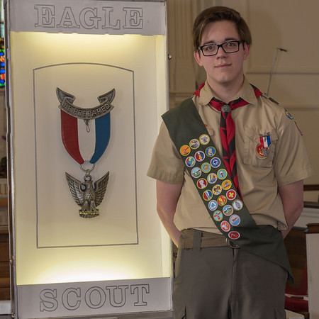 Ian's Eagle Scout Court of Honor