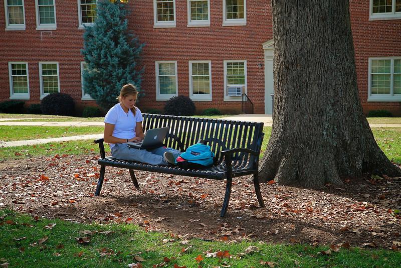 General Campus photos; Fall 2011.