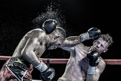 9. Andrew Robinson v Nicky Jenman - IBO Continental Middleweight Title