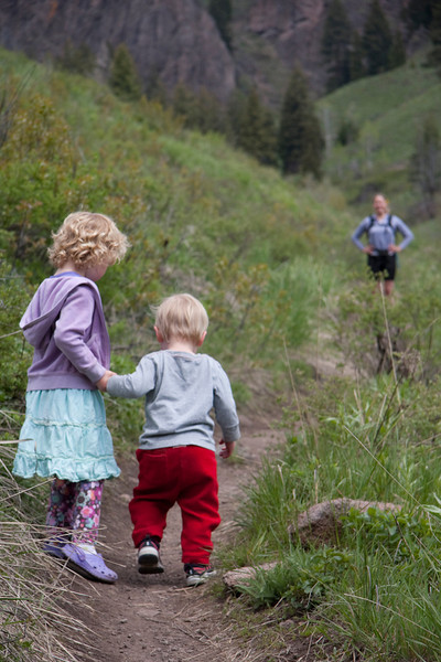 With many options close to town, Adams Gulch is a great location for beginner hikers.