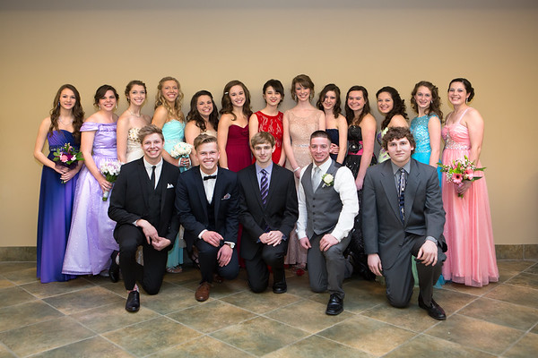 Christian Prom - Group Shots