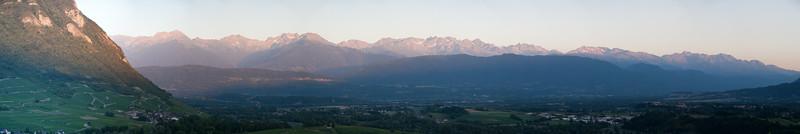 Chaine de Belledonne (Savoie)