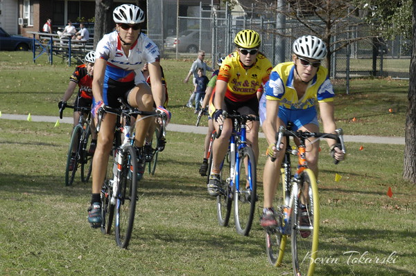 West End  Cyclocross, Stude Park, Houston, January 9, 2005 - Women A&B