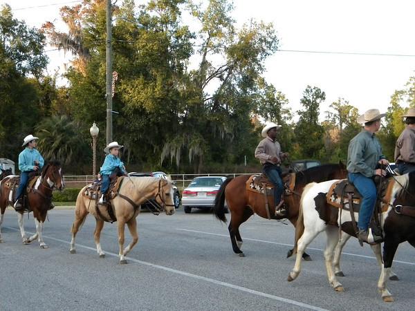 White Springs Christmas Parade 2012