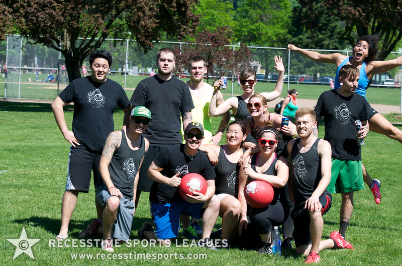 Recesstime Sports Leagues Portland Kickball Spring 2013 Dodgeball Bowling Ping Pong Mushball - 185