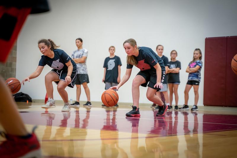 Portland Trail Blazers x Spirit Mountain Kids Clinic 2019