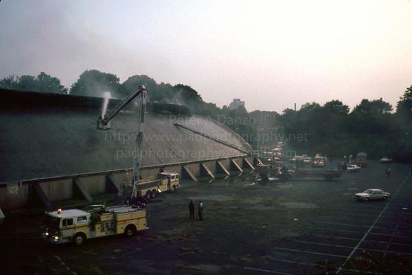 Newark NJ 2nd alm Branch Brook Park Ice Rink fire #1  08-17-84