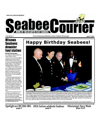 Seabee Courier - 7Apr11