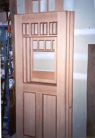Hammer residence: doors in progress